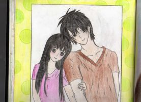 anime couplee by lovelylittlesunshine