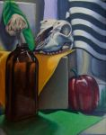 Still Life Oil Painting by DrkFaerie