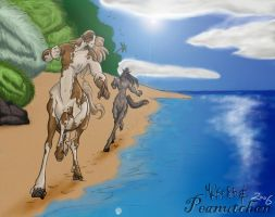 Centaurs in the summertime by MaKo85