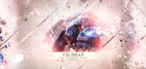 Volibear - The Thunder's Roar - Desktop Wallpaper by Cyrux-gfx