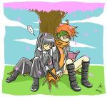 under the tree by joopable