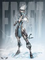 Frost  Mortal Kombat by Zupano