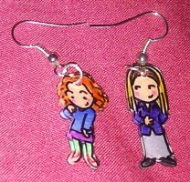 Cute Willow and Tara earrings by Lovelyruthie
