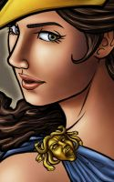 Goddess Athena - CloseUp by sKeTcH-cRaZy