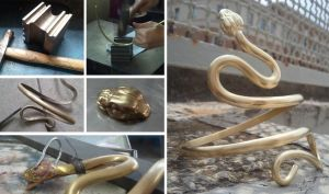 Snake bangle by Kaos-Nest