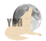 Canine w-Moon-YCH (CLOSED) by baRoguing