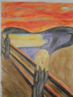 ''The Scream'' , or ''The Cry'', of Munch by dark-side-alliance