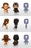 Spindrift papercrafts: Neb and Wenna test by ElsaKroese