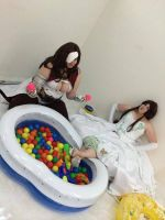 Final Fantasy Ballpit by Elrowiel