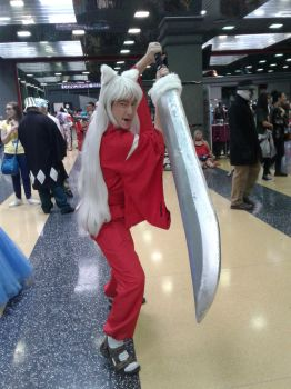 Anime Central 2017 Cosplay :  Inuyasa by blueappleheart89