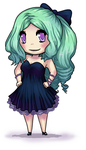 Sea Green Hair by Silver-Day