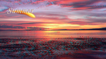 Summer Sea Sunset 3D by Nekokan-L