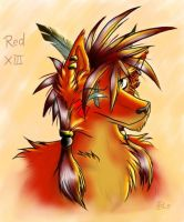 Red by GothWolf-Lucifur