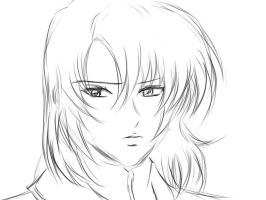 Athrun zala ... art line by lovedreams