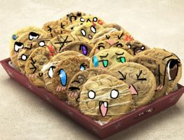 if cookies had emotions.. by heyitsjulie