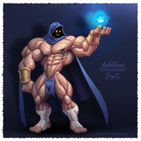 Ericsson The Muscle Mage by TheFabulousCroissant