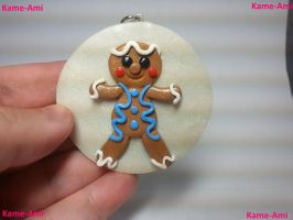 Gingerbread Ornament by Kame-ami