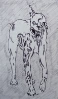 Zombie Dog by IckyDog