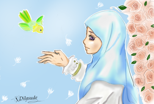 hijab by Dilasude