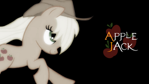 Simple Applejack Wallpaper by Nicida01