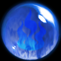 Blue Flame Orb - Redone by ChibiMai
