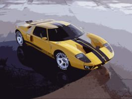 Ford GT 40 by Shivwacka