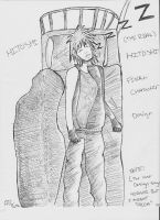 Hitoshi Final Character Design by KingFromHatena