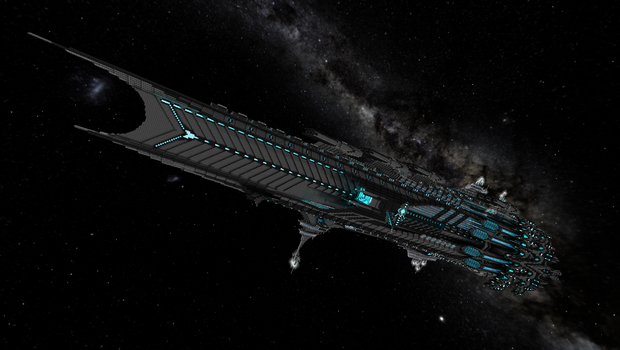 Starmade Glaive Class Battleship by CW390