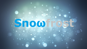 Snowfrost Clan-Official Banner GFX by neonbluebricks