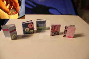 Miniature Books ~ New batch by Elvaneyl