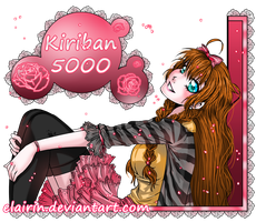 Kiriban 5000 by Elairin