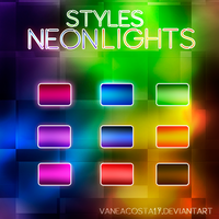 STYLES NEON LIGHTS by vaneacosta17