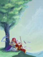 Wizard and Warrior Redux by CapnFlynn