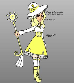 {Saints} Magical Girl Solaria by Midnight-Colors