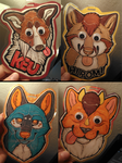 Badges - Batch #4 by Yupik