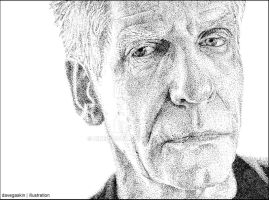 ::Stippled:: David Cronenberg by BikerScout