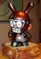 Steampunk Munny by rongbennett
