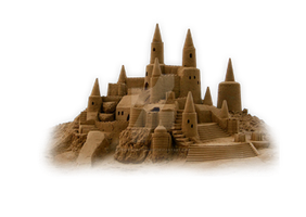 Sand Castle PNG by teefeyphotoshop