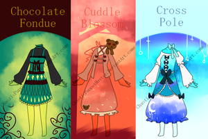 [Adoptable Clothes] Multiple Choice ((CLOSE)) by Chaotic-Senpai