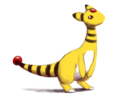 Electric Type Collab - Ampharos by BlazeDGO