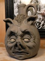 Jimmy the Pig Boy Jug-WIP by thebigduluth