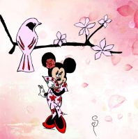 Japanese Minnie Mouse by Rapunzinette