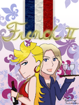French II Binder Cover (Panty x France) by TheEmily1220