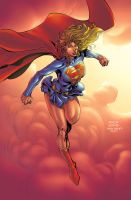 Supergirl  David Finch by boysicat igorferrazj by igorferrazjp