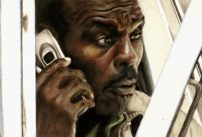 Rufus Turner (Steven Williams) by jacsch71