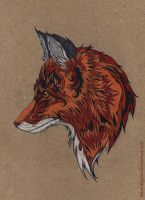 Fox by mareCaligine