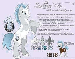 Silver Fire | My Little Pony OC by BettaRae