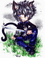 ...Chibi Neko pOWER... by tagl