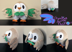 Pokemon Rowlet plush! Mokuroh Plush! 11'' SOLD
