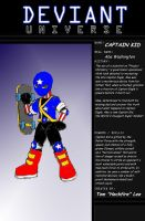 Deviant Universe: Captain Kid by Heckfire